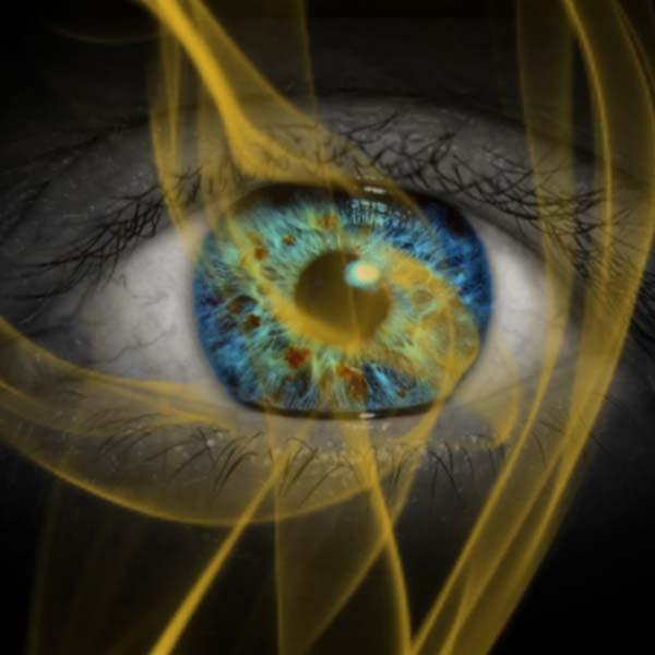 Foto Magisches Auge